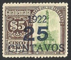 GUATEMALA--OVERPRINT 1922 MNH - Guatemala