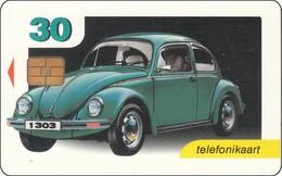 Estland Chip Phonecard Volkswagen 1303 Old  Auto Car Mit F. Porsche - Auto's