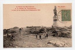 - CPA CÔTE-D'OR (21) - La Pointe Du Mont-Auxois Et La Statue De Vercingétorix Le Jour De La Réunion Du 18 Septembre 1905 - France