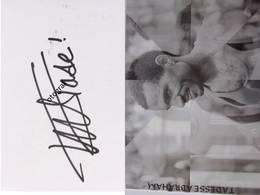 Tadesse Abraham - Signé / Dédicace Authentique / Autographe - Athletics