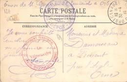 PHILATELIE / MARCOPHILIE / OBLITERATION CENTRE D INSTRUCTION D ORBEC (76) / GUERRE 1914/1918 / CPA FRANCE 35 SAINT MALO - Guerre Mondiale (Première)