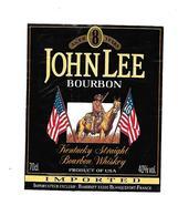 Etiquette - Bourbon John Lee - Whisky