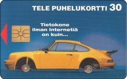 Finnland  Chip Phonecard Porsche Auto Car - Auto's