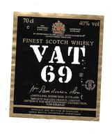 Etiquette - Whisky - VAT 69 - Whisky