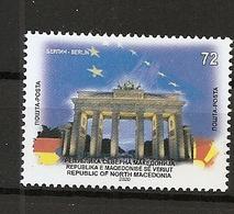 MACEDONIA NORTH 2020 ,TOWN BERLIN,GERMANY,,MNH - Mazedonien