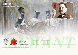 POLAND Postcard 2020.05.30. Cp 1890 100th Anniversary Of The Polish Army Museum - (horses) B.Gemborzewski - Entiers Postaux
