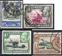 COLONIE ANGLAISE-KENYA OUGANDA TANGANYIKA  38-41 - Kenya, Uganda & Tanganyika