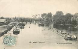 RUEIL - Le Port;péniches. - Houseboats