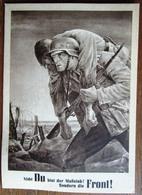 GG Sonderkarte Tag Der NSDAP Mit GG Marke Und SST Krakau 1943 - Besetzungen 1938-45