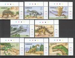 J1101 KIRIBATI FAUNA REPTILES PREHISTORIC ANIMALS DINOSAURS #1009-16 1SET !!! MICHEL 11 EURO !!! MNH - Stamps
