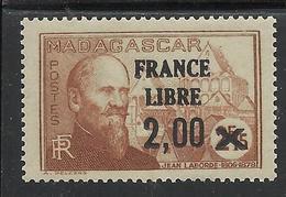 MADAGASCAR 1943 YT 264** - SANS CHARNIERE NI TRACE - Neufs