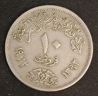 EGYPTE - EGYPT - 10 PIASTRES 1972 ( 1392 ) - KM 430 - Egypte