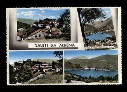 C3608 SALUTI DA ARDENA (VARESE) ACQUARELLATA VG 1960 - ED. GATTI & VANONI - Italia