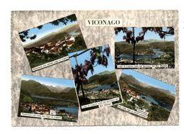 C3610 VICONAGO (VARESE)  MULTIVEDUTE PANORAMICHE ACQUALRELLATA VG EDIZ. GATTI & VANONI - Italia