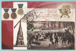 Bersaglieri Btg. Torino Timbro A Bandiera Viaggiata 1903 - Regiments
