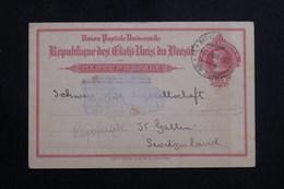 BRÉSIL - Entier Postal Commercial ( Repiquage Au Verso ) De Rio De Janeiro Pour La Suisse En 1916 - L 61147 - Enteros Postales