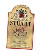 Etiquette - Whisky - Stuart - Scotland - Whisky