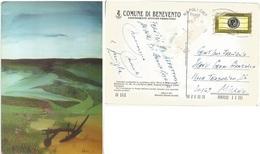 Comune Benevento - Cart,spec.Ed. Limitata Artista Maestro Verdile - Fiera S.Giuseppe - Usata 6apr2004 - Benevento