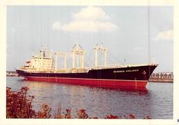 """Photo Ancienne Bateau    """" GEORGES VIELJEUX """" DELMAS 1971 LA CIOTAT - Barche"""