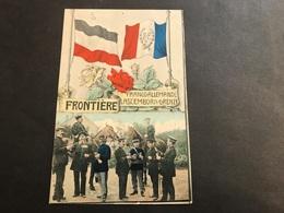 CPA 1900 Lascemborn Lafrimbolle Frontière Timbre Allemand Cachet St Quirin - Altri Comuni