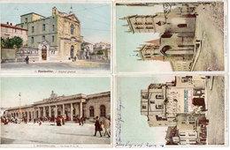 MONTPELLIER - 4 CPA  - L' Observatoire - La Cathédrale - La Gare PLM - Hopital Général  (1174 ASO) - Montpellier