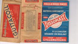 ARTICLES DES ANNEES 50 POUR REPARER LES CHAMBRES A AIR DES VELOS - - Cyclisme