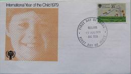 Australie 1979 IYC AIE FDC Garçon GEELONG - Infanzia & Giovinezza
