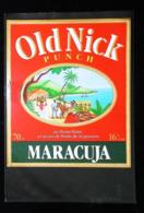 Etiquette De Rhum - PUNCH OLD NICK -  MARACUJA - Rhum