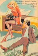 HUMOUR SEXY Par CARRIERE / LE CONSTAT AMIABLE - Humour