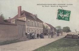 MÉZIÈRES SOUS BELLEGARDE  LE PAVÉ ROUTE DE BEAUMONT ( VUE PEU COURANTE ) - Frankreich