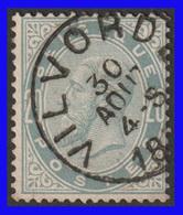 COB N° 39 - 20Cm Gris Perle - Belle Oblitération VILVORDE - 1883 Léopold II