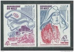 MALI  P. A.  N° 541 / 42 XX   Bicentenaire De La Révolution Française , Les 2 Valeurs  Sans Charnière, TB - Mali (1959-...)