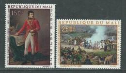 MALI  P. A.  N° 66 / 67 XX  Bicentenaire De La Nissance De Napoléon 1er, Les 2 Valeurs Sans Charnière, TB - Mali (1959-...)