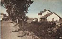 PRAT BONREPAUX (Ariège) Gare Et Route Nationale RV - Sonstige Gemeinden