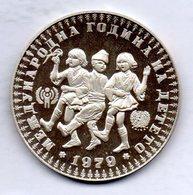 BULGARIA, 10 Leva, Silver, Year 1979, KM #104 - Bulgarije
