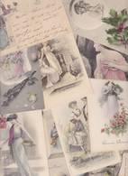 Lot 2352 De 10 CPA Illustrateurs Vienne Viennoise Femme Women Déstockage Pour Revendeurs Ou Collectionneurs - 5 - 99 Postales