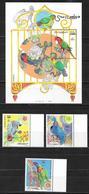 Somalia 1999 Parrots  MNH - Somalia (1960-...)