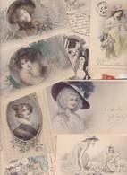 Lot 2354 De 10 CPA Illustrateurs Vienne Viennoise Femme Women Déstockage Pour Revendeurs Ou Collectionneurs - 5 - 99 Postales