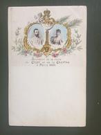 Souvenir De La Visite Du Czar Et De La Czarine àParis 1896 - Russie