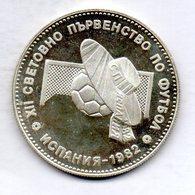 BULGARIA, 10 Leva, Silver, Year 1982, KM #143 - Bulgarije