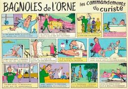 HUMOUR BAGNOLES DE L'ORNE / LES COMMANDEMENTS DU CURISTE - Humor