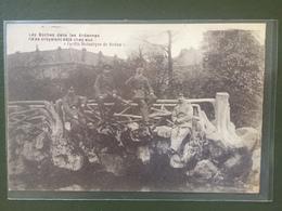 """Les Boches Dans Les Ardennes.Ils Se Croyaient Chez Eux! """"Jardin Botanique De Sedan"""" - Sedan"""