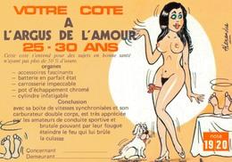 HUMOUR SEXY Par ALEXANDRE / VOTRE COTE A L'ARGUS DE L'AMOUR - 25-30 ANS - Humor