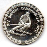BULGARIA, 10 Leva, Silver, Year 1984, KM #146 - Bulgarije