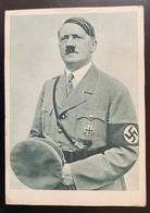 Propaganda Nazi Hitler 1938 Non Circulée Peu Commun - Guerre 1939-45