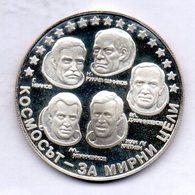 BULGARIA, 10 Leva, Silver, Year 1985, KM #157 - Bulgarije