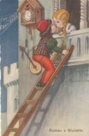 Cartolina - Postcard /   Viaggiata - Sent /  Romeo E Giulietta. - Fantasia