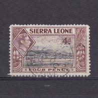 SIERRA LEONE 1938, SG #193, King George VI, Lanscape, Used - Sierra Leone (...-1960)