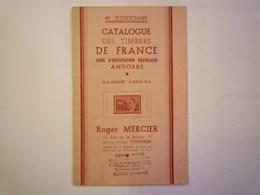 2020 - 5748  CATALOGUE Roger MERCIER  SAISON 1950 - 51  (48 Pages)    XXX - Frankreich