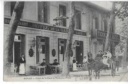 CPA 17200 ROYAN : Hôtel De La Gare Et Terminus Hôtel   1913 - Royan